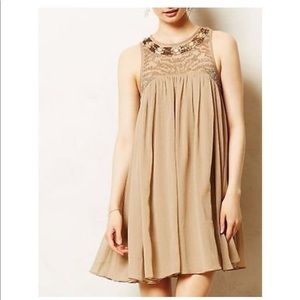 Moulinette Soeurs Anthropologie Embellished Dress